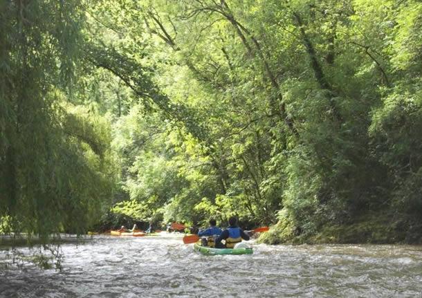 Les parcours en cano u00eb sur la Sarthe dans les Alpes Mancelles 72 # Canoe St Leonard Des Bois